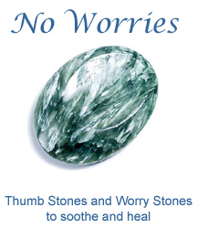 Thumb Stones and Worry Stones to soothe and heal