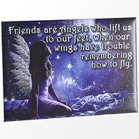 Friends Are Angels Magnet