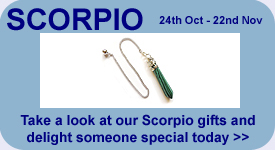 Take a look at our Scorpio Gift Ideas