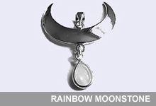 Take a look at our Rainbow Moonstone Collection