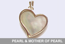 Take a look at our Pearl and Mother of Pearl Collection