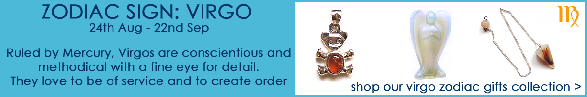 Shop our Virgo Zodiac Sign Jewellery & Gifts Collection