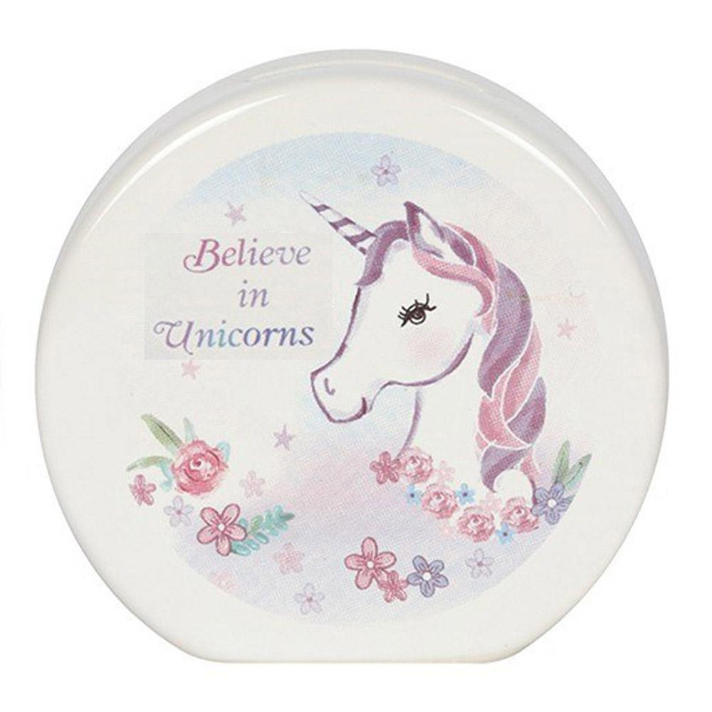 Believe In Unicorns Money Box [Design A]