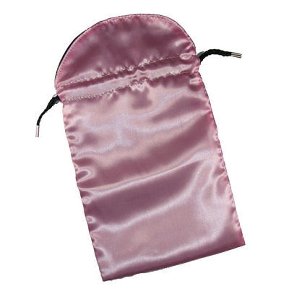 Pink Satin Tarot Card Bag